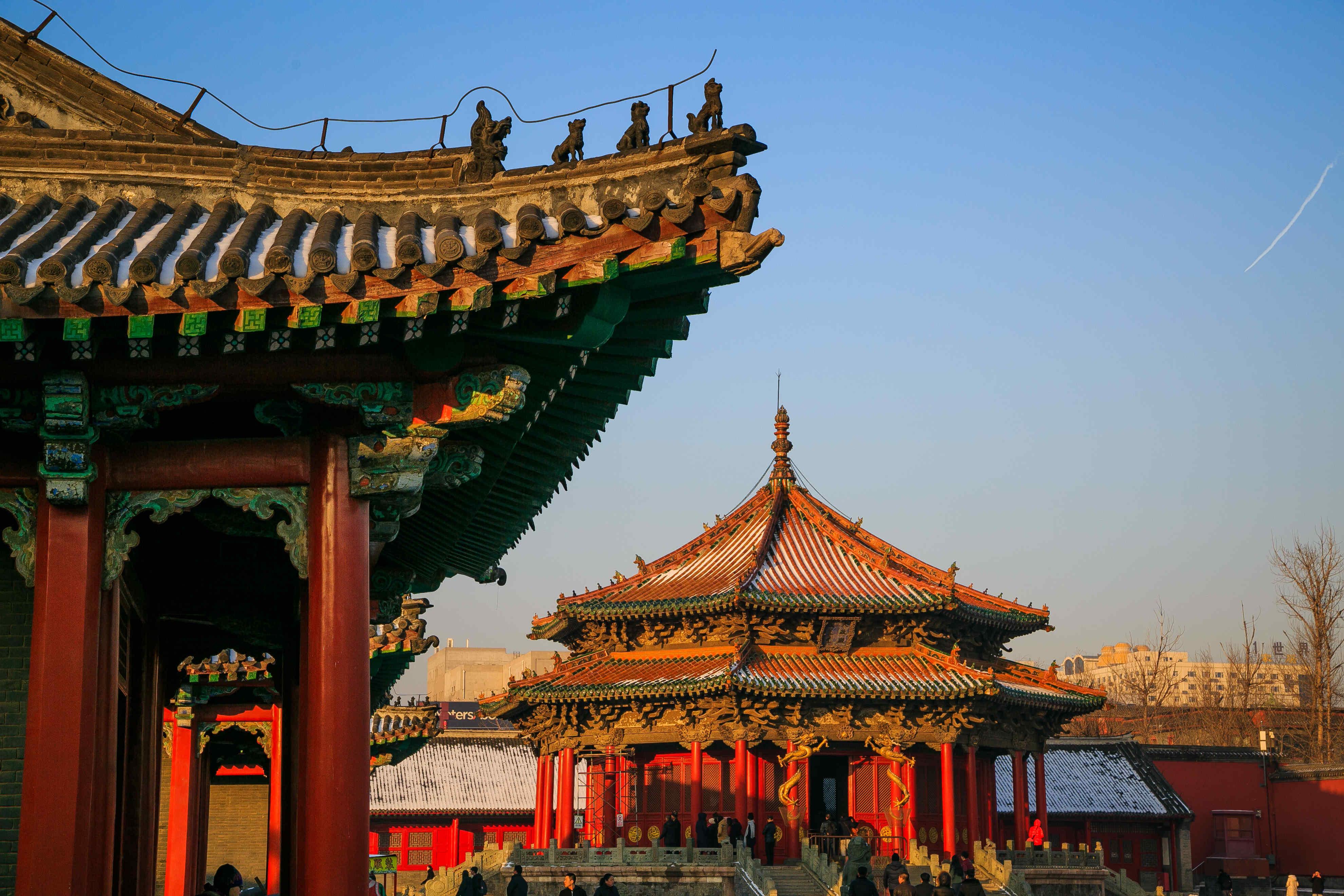 【团位紧张】纯净北京四天三晚天安门故宫+恭王府+八达岭+鸟巢水立方+圆明园天坛颐和园